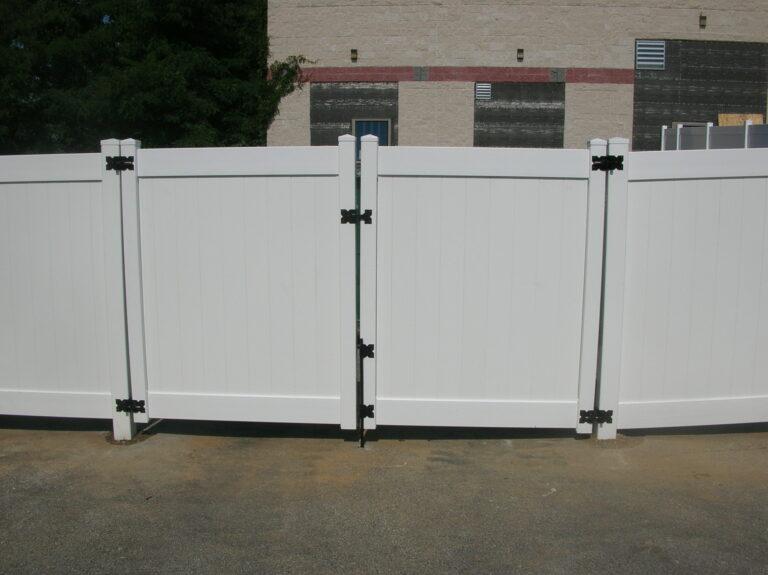 Vinyl Panel Fence