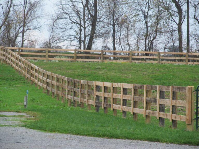 Heavy Rail Fence