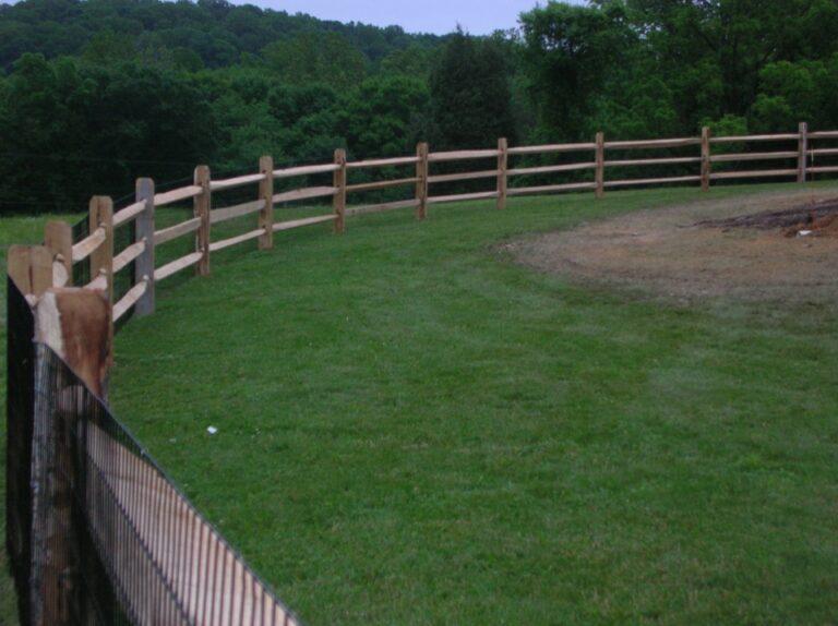 Meadow Rail Fence